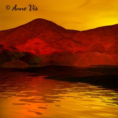 Sunset in Orange