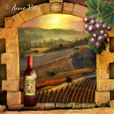 La Vie en Rose Wine