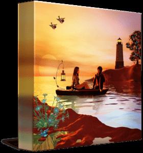 lighthouse paintings – Design Blog