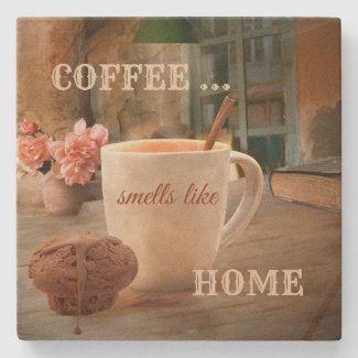 Coffee personalized coaster