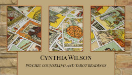 Psychic Tarot Reader Business Card