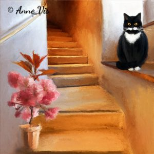 Welcome Home - fine art by Anne Vis