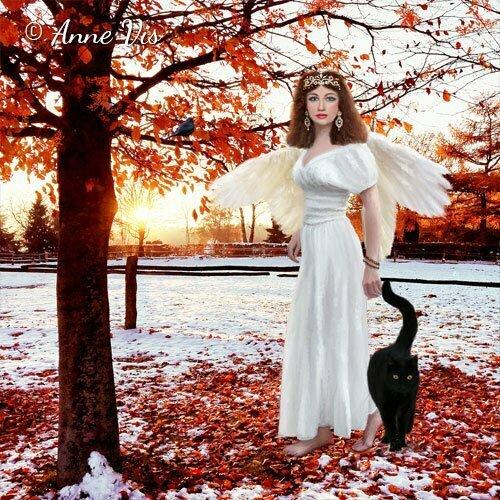 Venus - spiritual fine art by Anne Vis