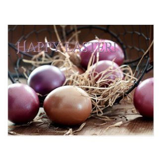 Happy Easter Egg Hunt Postcard