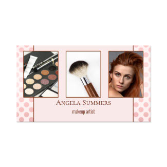 Your Photo Beautician Make Up Artist Business Card