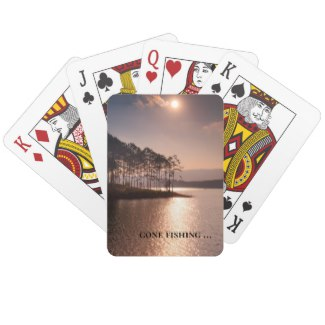 Beautiful landscape art playing cards