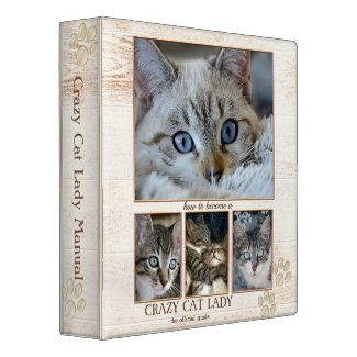 Personalized Cat Photo Binder