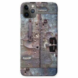Industrial grunge metallic design phone case