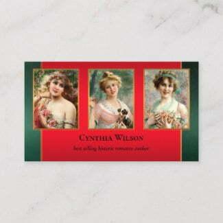 Your photos romance author business card