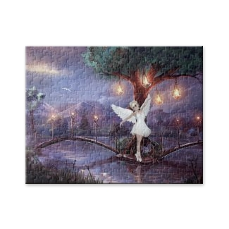 Fairy tale dancing at night puzzle