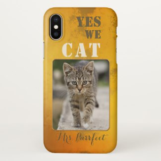 Your custom cat photo funny personalized phone case