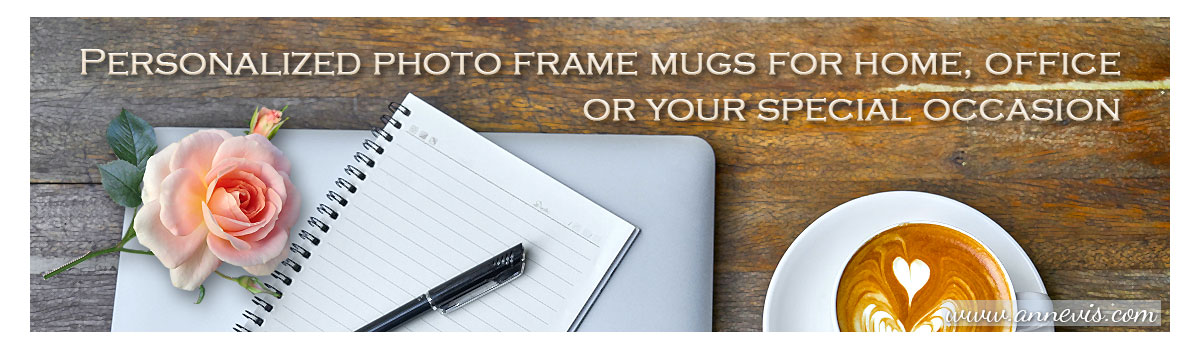 Personalized gifts - photo mugs