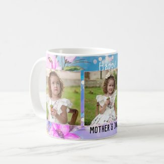 Your photos gorgeous floral mother's day mug