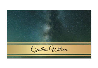 Psychic or Clairvoyant Galaxy Business Card
