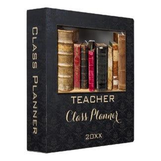 Teacher Class Planner Custom Photo Binder