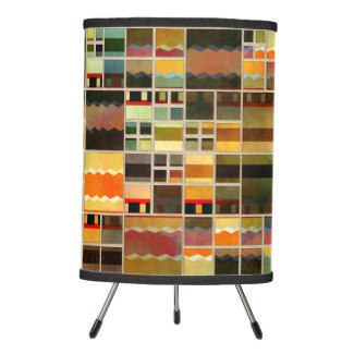 Colorful Geometric Design Abstract Pattern Lamp