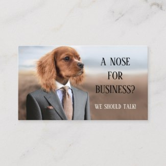 Funny Recruiting or Headhunter Business Card