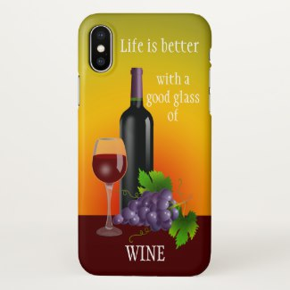 I love Red Wine Phone Case
