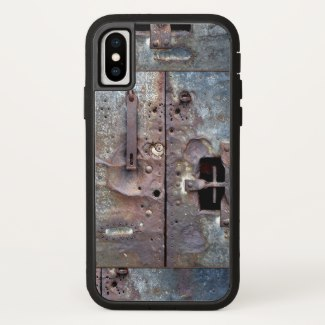 Industrial Grunge Metal Door Phone Case