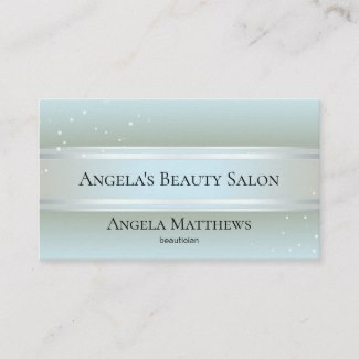 Sparkling Beauty appointment business card