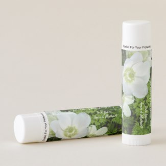 Anemone Bridal Wedding Thank You Lip Balm