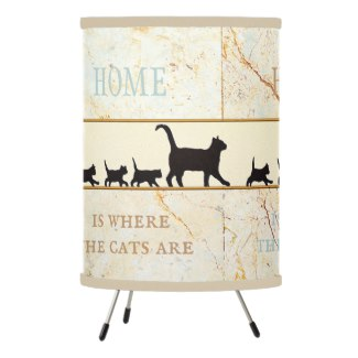 Cute Cat Family Kittens Lamp
