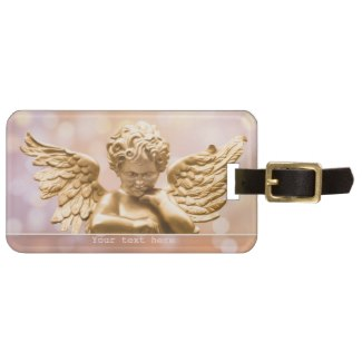 Guardian Angel Blessing Luggage Tag