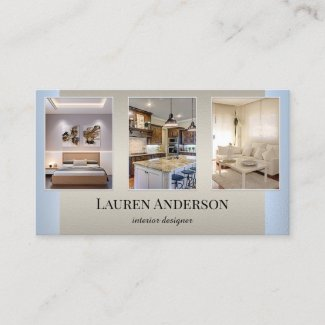 Your Photos Showcase Home Staging Business Card