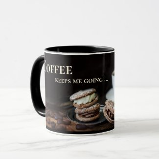 Funny personalized coffee and wine mug