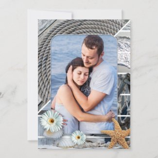 Nautical Save the Date Photo Card