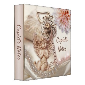 Cupid's notes Valentine's Day Binder