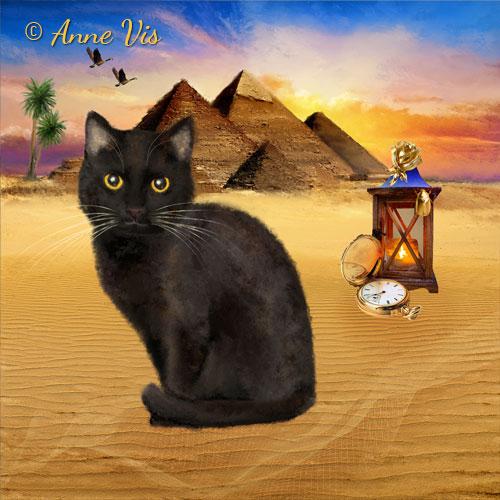 Egypt - fine art by Anne Vis