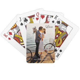 Your photo love wedding playing card deck - wedding gifts and favors